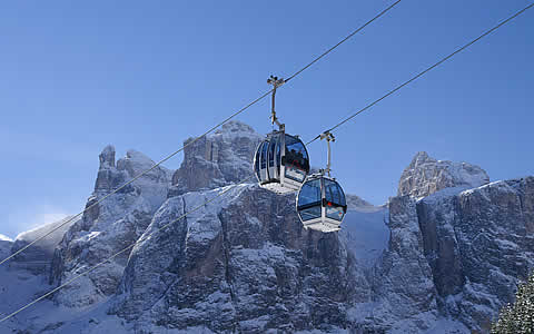 Ski lifts in Alta Badia