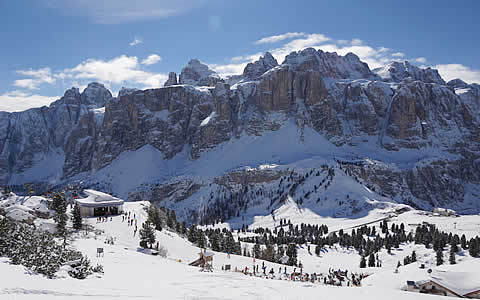Passo Gardena and Sella Group