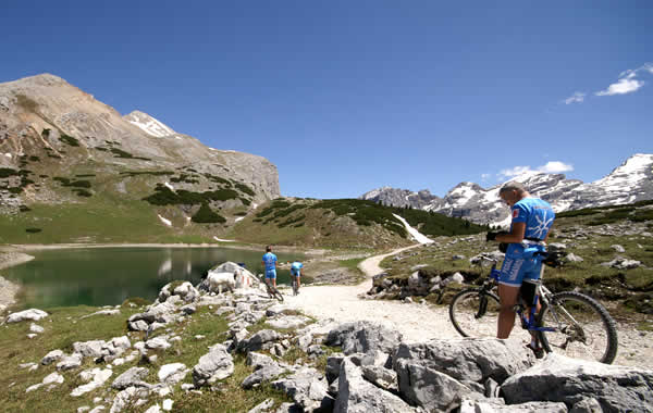 Mountain bike Prati dell'Armentara - Rit