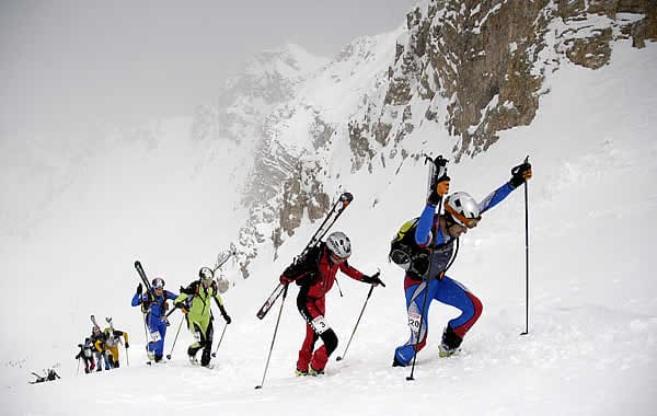 Tour de Sass ski mountaineering